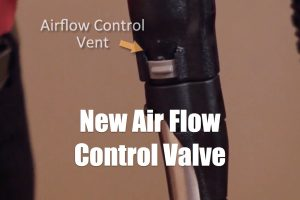 Using the new Rainbow air flow control