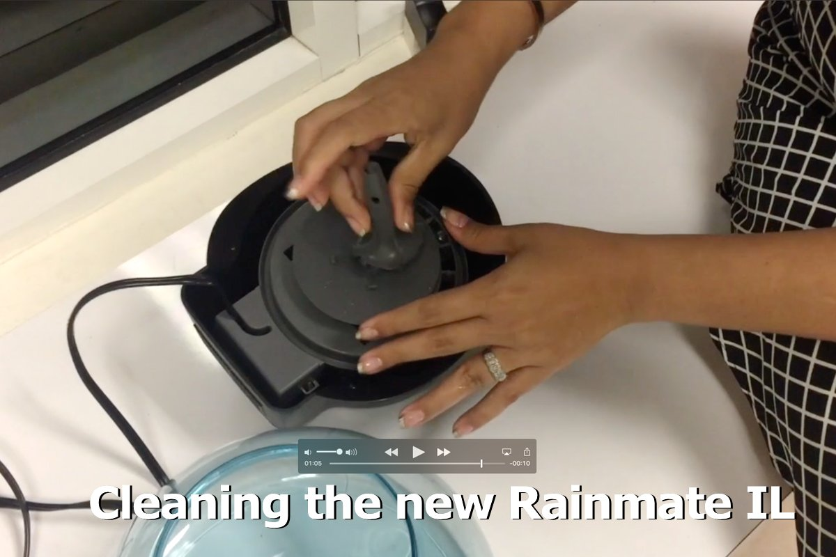 Cleaning rainmate il how to properly maintain your rainmate il.