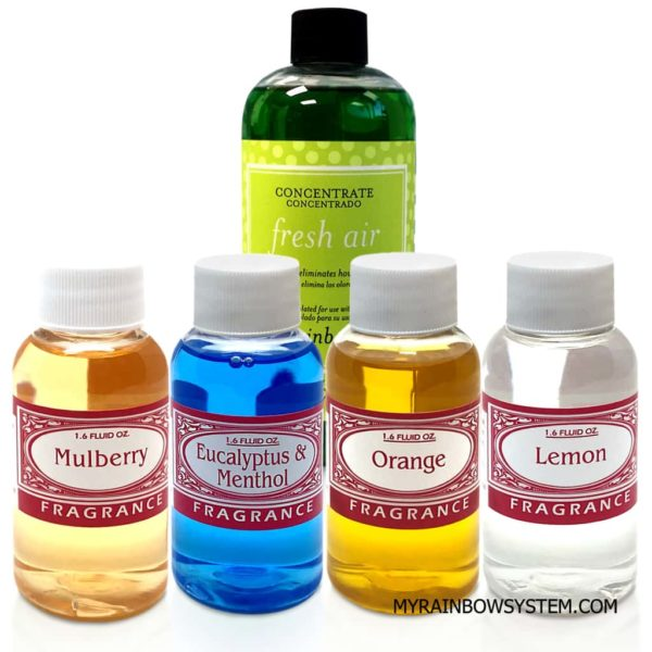 Rainbow Fresh Air with Assorted Concentrated Scents